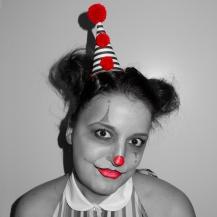 mika oh bw clown